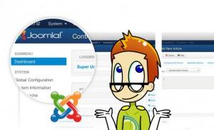 Rauschfrei Media Avatar mit Joomla-Backend im Hintergrund